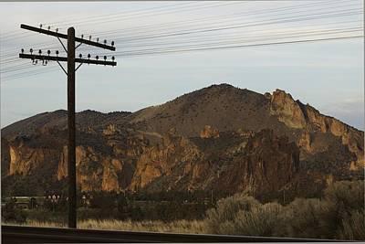 Photograph - Utility Pole by Sara Stevenson