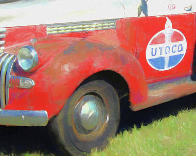 Digital Art - Utoco Chevy by David King