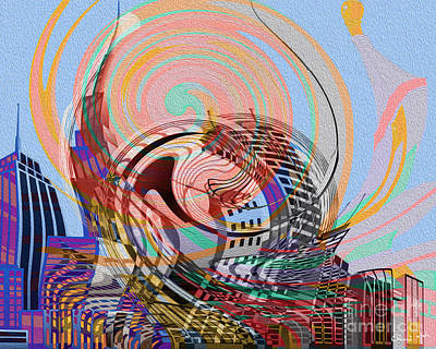 Digital Art - Utopia by Eleni Mac Synodinos
