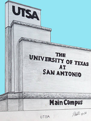 Drawing - Utsa by Frederic Kohli
