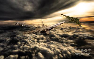 Valiant Digital Art - V Bombers by J Biggadike