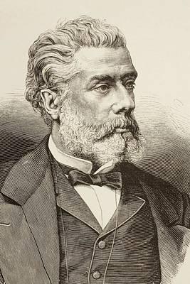 V Ctor Balaguer Born 1824 Died 1901 Art Print