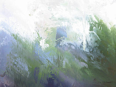 Painting - Vi - Grass by John WR Emmett