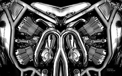Photograph - V-rod by Mark Alesse