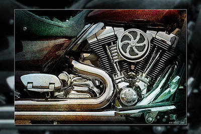 Photograph - V Twin by WB Johnston