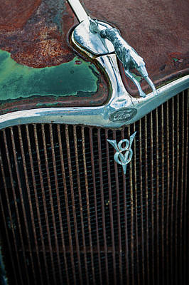Photograph - V8 Ford With Rust by Bud Simpson