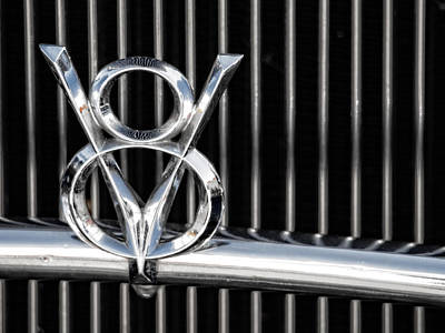 Photograph - V8 by Gary Karlsen