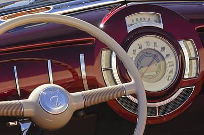 V8 Hot Rod Dash Art Print by Jill Reger