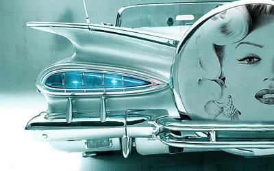 Digital Art - V8 Marilyn by Greg Sharpe
