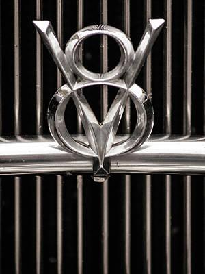 Photograph - V8 by Stewart Helberg