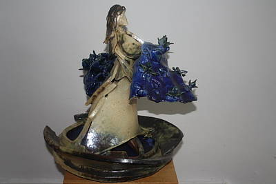 Sculpture - Va Afloat by Gloria Ssali