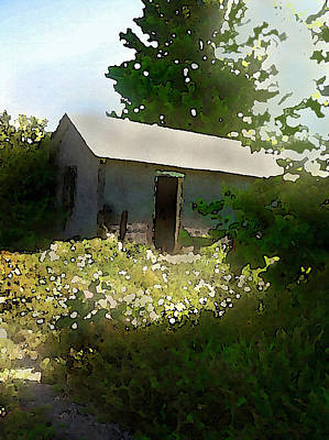 Digital Art - Vacancy In Shantytown by Shelli Fitzpatrick