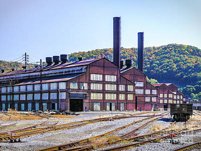 Photograph - Vacant Steel Mill - Johnstown Pa by John Waclo