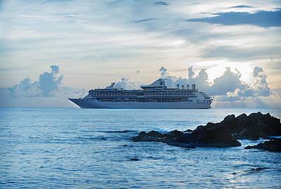 Vacation Cruise Art Print