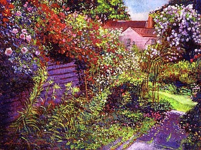 Painting -  Vacation Garden by David Lloyd Glover