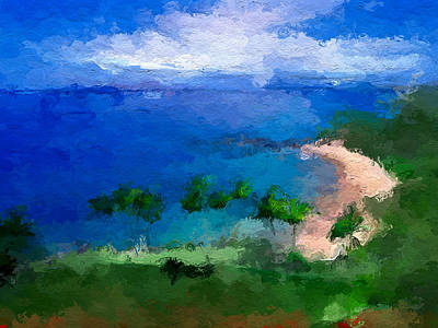 Digital Art - Vacation Hideaway  by Anthony Fishburne