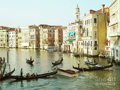 Wall Art - Painting - Vacation In Venice P2 by Aleks Titarenko