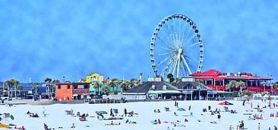 Vacation Art Print by Kathy Bassett