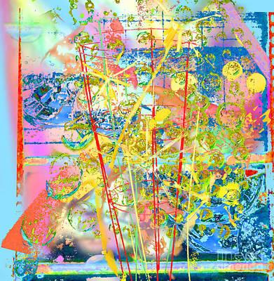 Bittersweet Digital Art - Vacation Memories by Dorothy Pugh