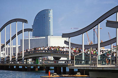 Photograph - Vacation Time In Barcelona by Tatiana Travelways