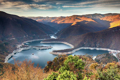 Photograph - Vacha Lake by Evgeni Dinev