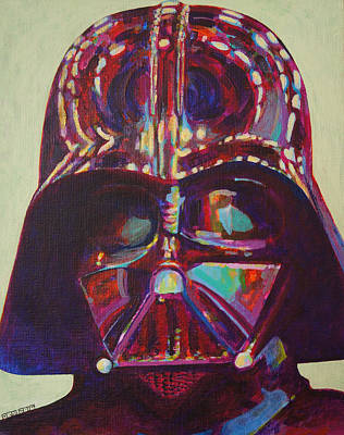 Sith Painting - Vader by Jesse Mayorga