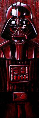 Vader Art Print by Marlon Huynh