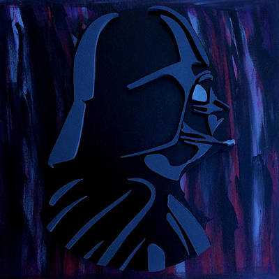 Scroll Saw Digital Art - The Dark Side by Michael Bergman