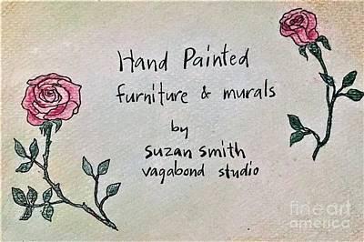 Painting - Vagabondstudio by Suzn Art Memorial