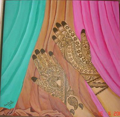 Painting - Vaidez by Shanta Rathie