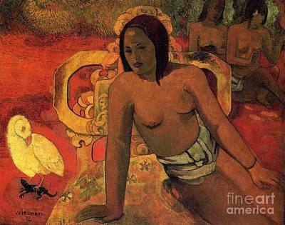 Gauguin Mixed Media - Vairumati by Gauguin