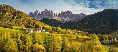 Photograph - Val Di Funes by JR Photography