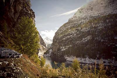 Photograph - Val D'isere Lac Du Chevril #3 by Sophia Pagan