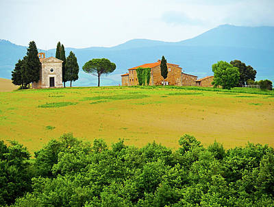 Photograph - Val D'orcia Scenic by Dennis Cox WorldViews