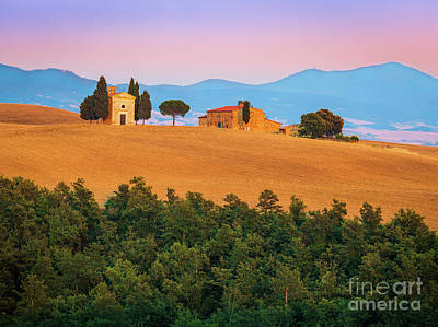 Val D'orcia Serenity Art Print by Inge Johnsson