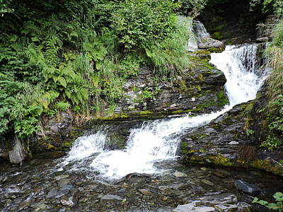 Photograph - Valdez Waterfall by Denise   Hoff