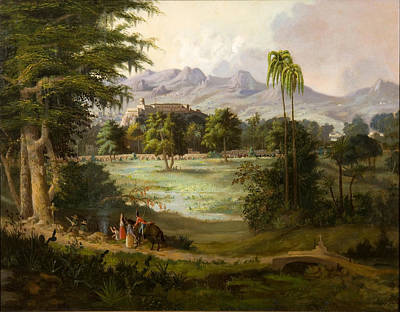 Vale Painting - Vale Of Kashmir by Robert