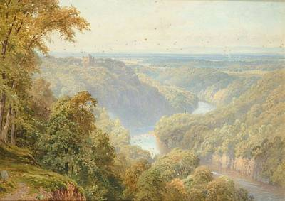 Sutton Painting - Vale Of Mowbray From Hackfall by Harry Sutton Palmer