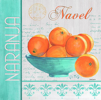 Kitchen Decor Painting - Valencia 3 by Debbie DeWitt
