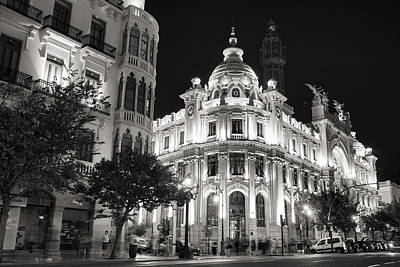 Photograph - Valencia Post Office by For Ninety One Days