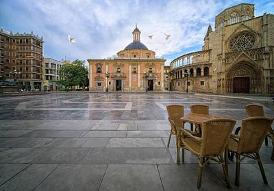 Photograph - Valencia Square by Anek Suwannaphoom