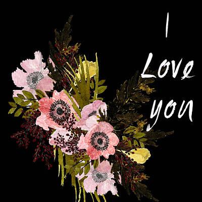 Painting - Valentine Bouquet 1 by Garima Srivastava