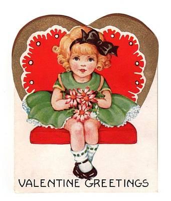 Painting - Valentine Greetings by R Muirhead Art