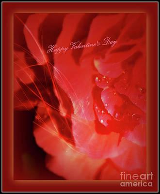 Photograph - Valentine Love by Leone Lund