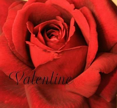 Valentine Art Print by Marna Edwards Flavell