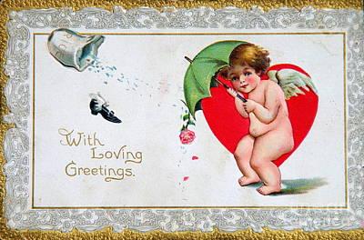 Photograph - Valentine Postcard by Kevin Bohner