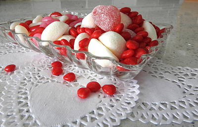Photograph - Valentine Sweets by Betty-Anne McDonald