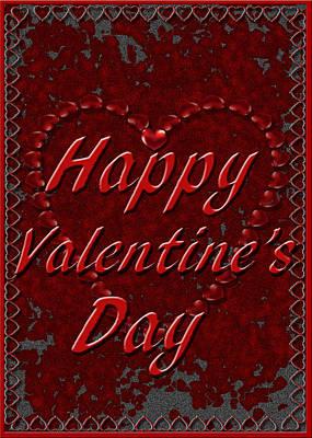 Digital Art - Valentine3 by Michelle Audas