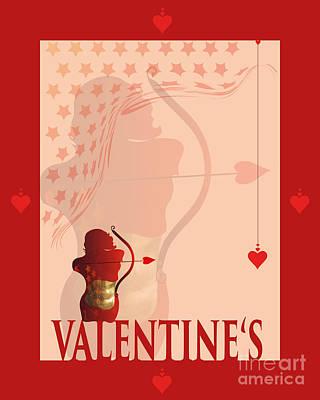 Yes Valentine M20 Art Print by Johannes Murat