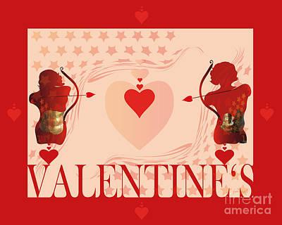 Extraordinary Valentine M18 Art Print by Johannes Murat